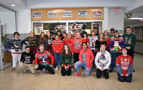 Ugly Sweater/Christmas Spirit Day at CCCTC