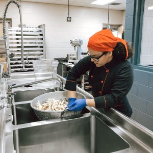 CCCTC Culinary Arts & Food Management Students Explore Hands-On Cafe Operation
