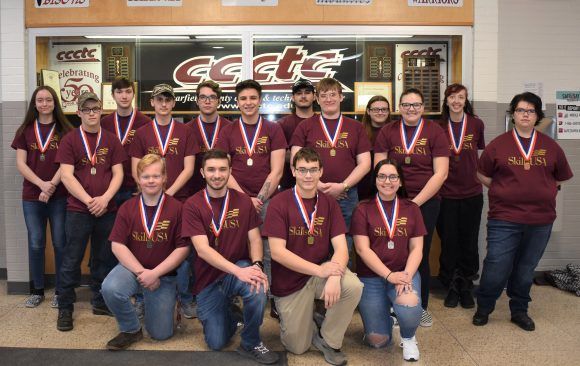 CCCTC Announces SkillUSA District Competition Winners