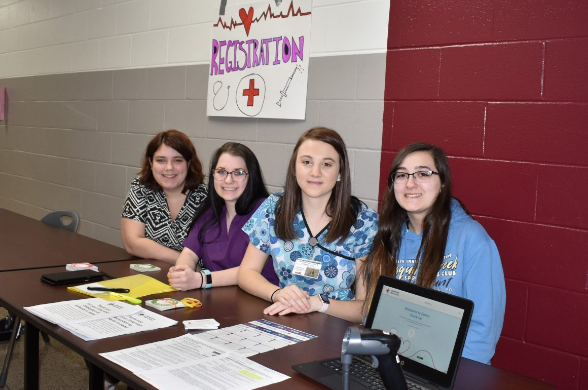CCCTC Health Occupations Technology Students Hold Blood Drive