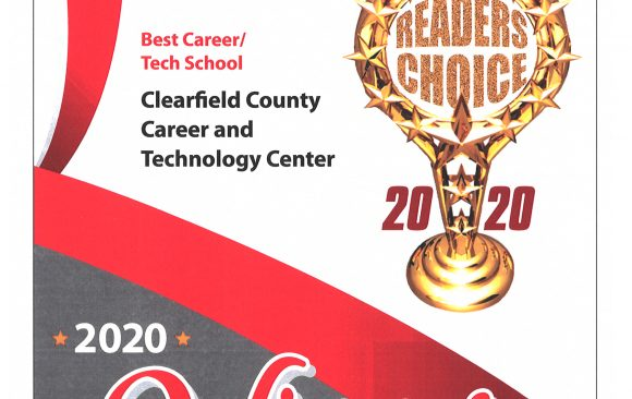 CCCTC receives Progressland's Readers Choice Award Fourth Year in a Row