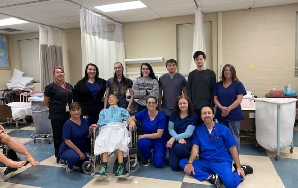CCCTC Certified Nurses Aid Students Graduate