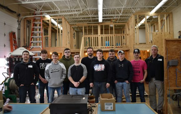 CCCTC Electrical Occupations Students Hear About Opportunities Through IBEW Local 5