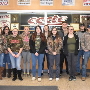 CCCTC Celebrates Spirit Fridays in February for National Career and Technical Education Month