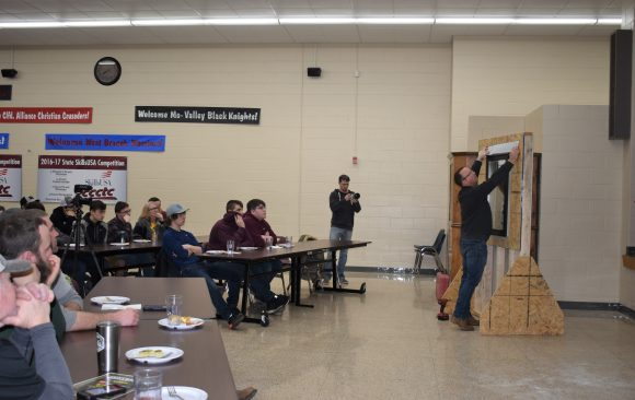 CCCTC Carpentry and Building Construction Students Attend Lezzer Lumber Presentation