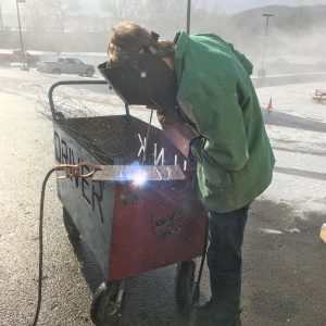 CCCTC Welding Students Have Opportunity to Practice Skills Outside of the Program