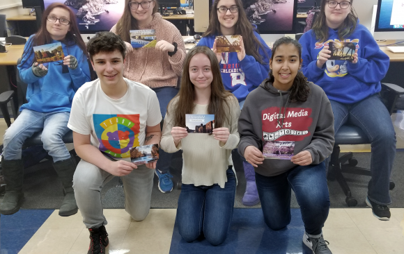 CCCTC Digital Media Arts Students Create Postcards of Clearfield County
