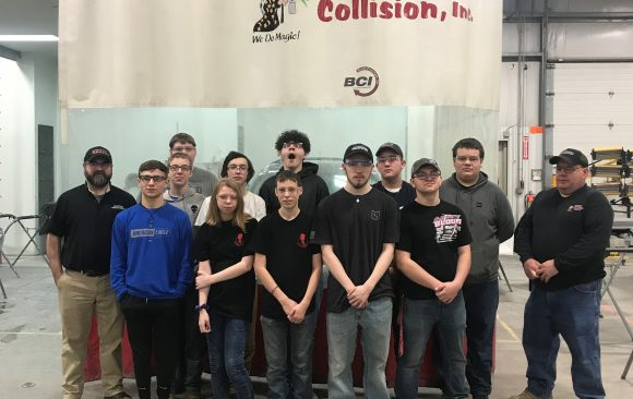 CCCTC Collision Repair Students Visit Several Local Repair Shops