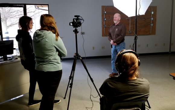 CCCTC Digital Media Arts Students Start Production on Videos for Workforce Solutions