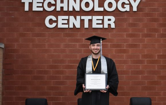 Austin Beirlair is Selected as CCCTC Outstanding Student for the 2019-2020 School Year