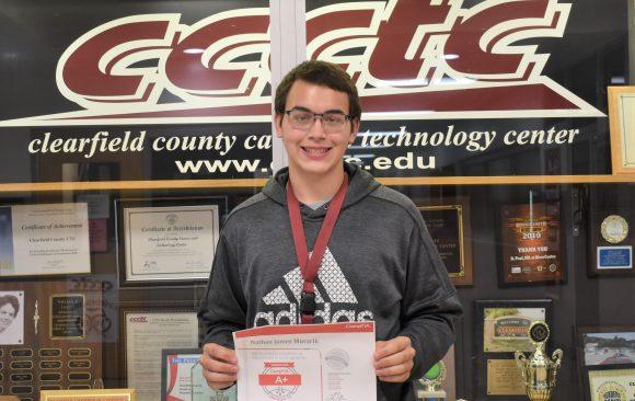 CCCTC Information Technology Graduate, Nathan Murarik, Earns CompTIA A+ Certification