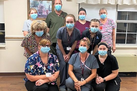 CCCTC Graduates September Certified Nurses Aid Class