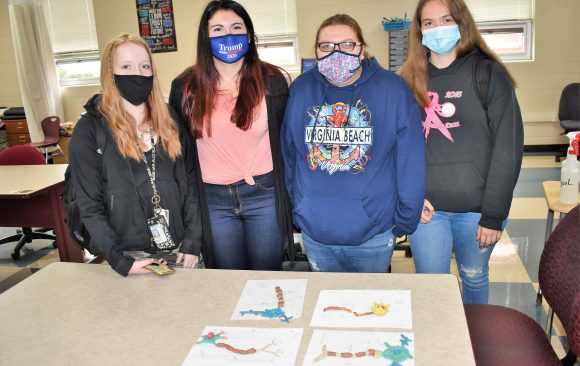 CCCTC Health Occupations Technology Students Learn About Neurons
