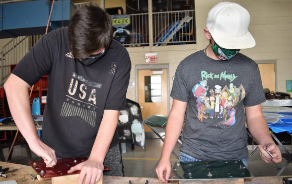 CCCTC Collision Repair Students Practice With Fasteners Used In The Industry