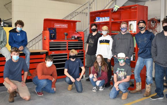 CCCTC Collision Repair Adds New Tool Boxes to Shop Area