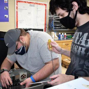 CCCTC Adult Information Technology Students Modernize Old Computer