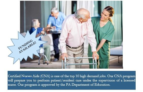 Become a CNA in Five Weeks at CCCTC