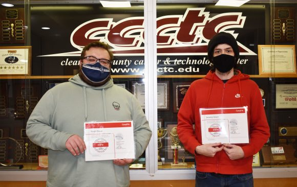 CCCTC Adult Information Technology Students Earn CompTIA ITF+ Certification