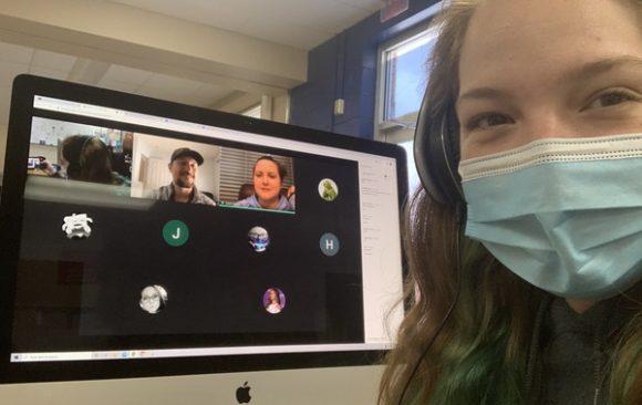 CCCTC Digital Media Arts Program has Guest Speaker During Virtual Class