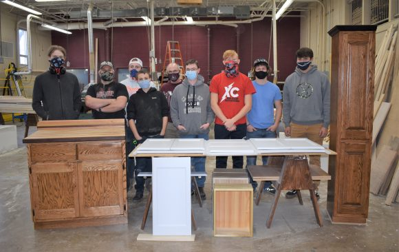 CCCTC Carpentry Students Finish Projects