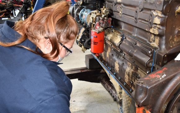 CCCTC Diesel Students Maintain and Repair Heavy Duty Trucks and Equipment