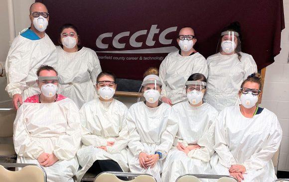 CCCTC Graduates January 2021 Certified Nurses Aide Class