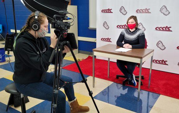 CCCTC Digital Media Arts Students Begin Producing Monthly Recap Videos