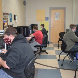 CCCTC Information Technology Students Competing in National Cyber League Security Competition Today
