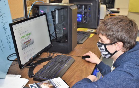CCCTC Information Technology Students Preparing for National Cyber League Competition