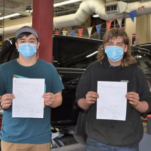 CCCTC Automotive Mechanics Students Earn Their PA State Inspection License