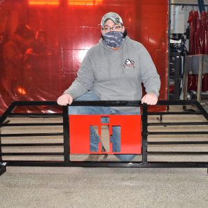 """CCCTC Welding & Metal Fabrication Student Designs and Welds """"Headache Rack"""" For Truck"""