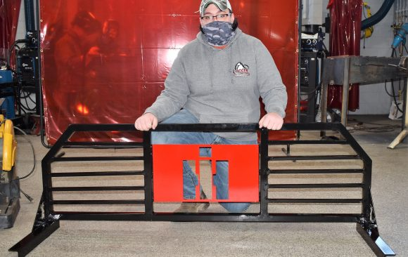 "CCCTC Welding & Metal Fabrication Student Designs and Welds ""Headache Rack"" For Truck"