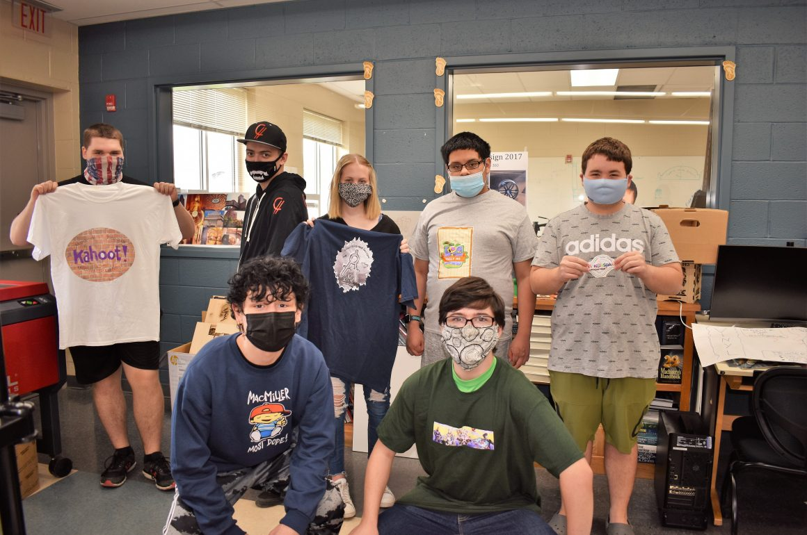 CCCTC Drafting Students Create Designs for T-Shirts