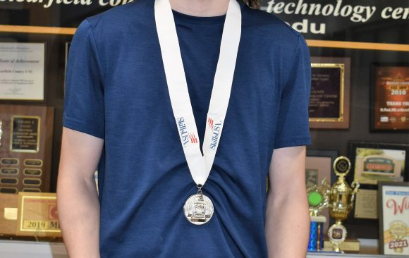 CCCTC Information Technology Student Places Second in SkillsUSA State Competition