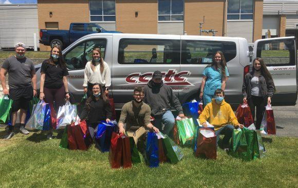 CCCTC Students Collect and Deliver Items to Nursing Homes