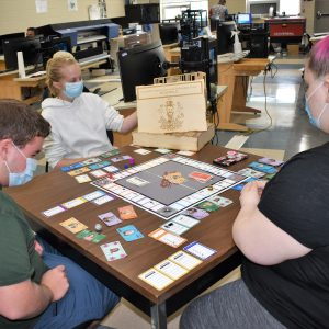 CCCTC Drafting & Design Students Create Custom Monopoly Game